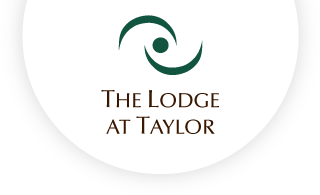 The lodge at taylor web logo